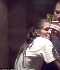 Rocco Ritchie & Kim Turnbull cuddle up in flirty Snapchat video