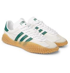 watch dc410 aa630 ADIDAS ORIGINALS COUNTRY X KAMANDA NYLON, LEATHER AND SUEDE SNEAKERS.  adidasoriginals shoes