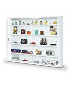 Easy Home Simply White Display Cabinet - Rattan Furniture SHOP UK Interior Furniture