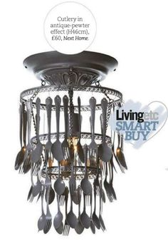 1000 images about diy lighting upcycle on pinterest diy for Spoon chandelier diy