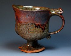 John Glick Plum Tree Pottery Prime of Their Time by MugsMostly click now to see more. Pottery Mugs, Ceramic Pottery, Pottery Art, Pottery Ideas, Stoneware Mugs, Ceramic Cups, Kansas City Art Institute, Ceramics Monthly, Plum Tree