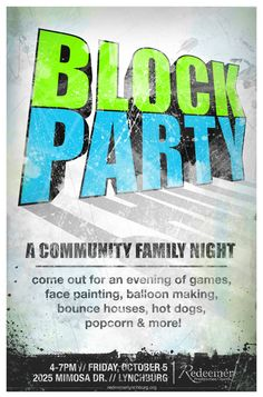 Community Events // by Ryan Andrews, via Behance - Diy Event Ideas Church Outreach, Church Fundraisers, Church Ministry, Youth Ministry, Ministry Ideas, Community Activities, Church Events, Church Activities, Community Events