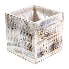 Koyal 6-Pack Square Cube Wood Vase, 6 by 6-Inch, Shabby White Koyal http://www.amazon.com/dp/B00LBL7GFE/ref=cm_sw_r_pi_dp_pP7Ztb1XAZNKAJF7