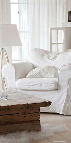 love the white chair