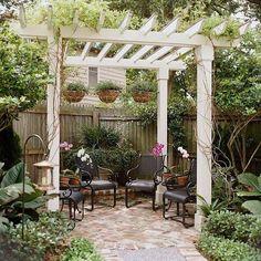50 ideas de pergolas para inspirarte - Jardinería