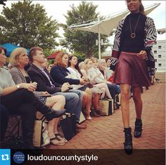 "A taste of front row #Repost from @loudouncountystyle ""Those #booties! Let's #celebrate that #fall is finally here!  @northernvirginiamag @girlfriendgroup #fashionNOVA"""