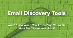 How To Find Email Addresses: The Complete Guide #email #marketing