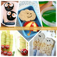 10 Easy Food Crafts To Make With Kids