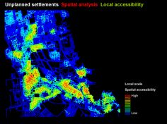 Jeddah, Space Syntax Analysis of Unplanned Settlements