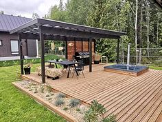 Cubby Houses, Summer Kitchen, Cubbies, Bungalow, Gazebo, Porch, Shed, Home And Garden, Deck