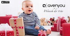Jetzt mit der Avenyou App aus über 1700 Online-Shops Wunschlisten erstellen und an Freunde und Familie senden. So macht wünschen Spaß!