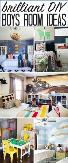 A collection of the most popular and adorable boys room ideas on the internet! These swoon-worthy spaces are sure to sweep your little dude off his (dirty) little feet!! from heatherednest.com