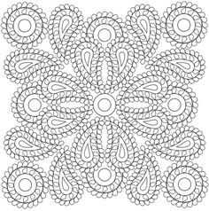 Creative Haven Paisley Mandala. Welcome to Dover Publications