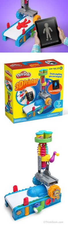 A Play-Doh 3D printer! How cool would this be?