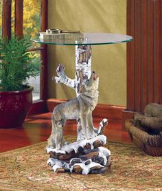 Wolf Glass Table