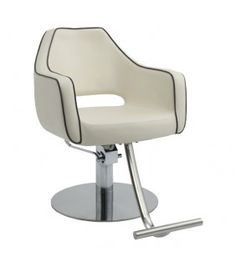 Salon styling chairs by Minerva Beauty. Shop from a large variety of styles and colors sure to enhance the look of any salon or spa. Navy Blue Living Room, Small Living Room Chairs, Salon Styling Chairs, Oversized Chair And Ottoman, Office Chair Without Wheels, Beauty Salon Design, Home Salon, Egg Chair, Upholstered Chairs