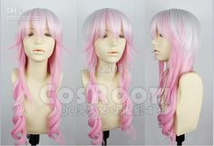 HOT SELL! White Cherry Pink And Mixed Long Wigs Cosplay Wig Online ...