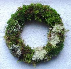 #Moss Wreath workshop