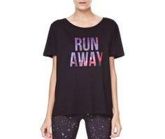 Star print top with text detail - OYSHO