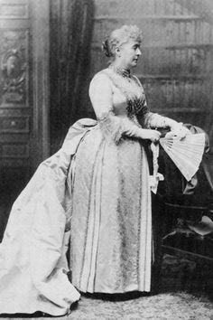 First Lady Caroline Harrison. Photo courtesy President Benjamin Harrison Home