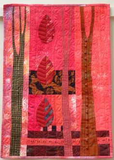 Helen Howes -- interesting vertical tree panels and then the repeated leaf motif