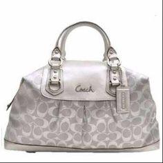 "Selling this ""Coach ""ashley"" bag"" in my Poshmark closet! My username is: veebaby18. #shopmycloset #poshmark #fashion #shopping #style #forsale #Coach #Handbags"