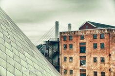 Tacoma Museum of Glass  Industrial Fine Art by MScottPhotography