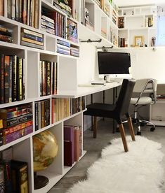 Better Than Storage: 7 Creative Uses For Your Closet  Think a dedicated library is a dream only for those who live in mansions? Hardly! Sturdy shelving, good lighting and maybe a little seat could turn a closet into your own personal library. It's a big closet, but still inspiring: Before & After: Goodbye Closet, Hello Library.  ApartmentTherapy