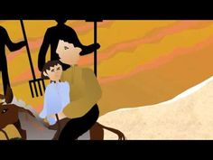 Cuento del Conde Lucanor. El padre, el hijo y el burro. - YouTube