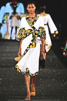 Kiki Clothing at Arise Magazine Fashion Week Lagos 2012  Image: Reze Bonna