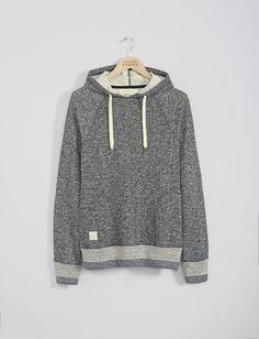 Mens Sweatshirts | Knitted Rib Hoodie | Native Youth