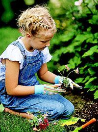 Teach your kids how to start a garden  http://www.bhg.com/health-family/activities/outdoor/teach-your-kids-how-to-start-a-garden/
