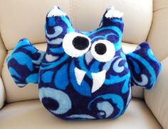 Neck Support Plush Animal Baby Pillow Toy Handmade by Givemiracles