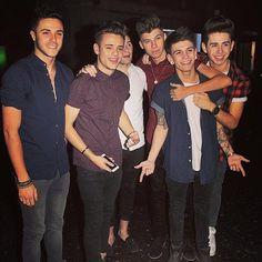 X Factor Boys: 6/8 Stereo Kicks: Barclay, Casey, Tom, James, Jake and Chris