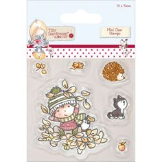Look what I found on #blitsy! Tilly Daydream Clear Mini Stamps 75mm X 75mm-Terry #blitsybuys