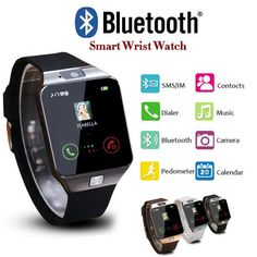 43c3e97a69 New Touch HD Screen Smart Watch Bluetooth Camera Wrist Watch SIM Card  Smartwatch For IOS Android