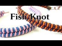 Handmade DIY - Fish Knot Bracelet - YouTube