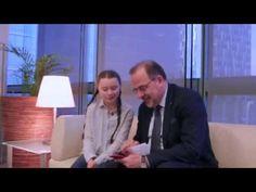 Luca Jahier in conversation with Greta Thunberg