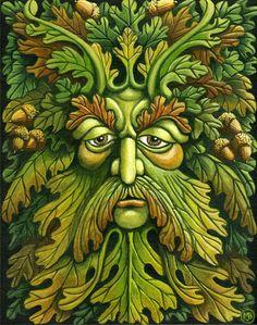 Oak King by fantasist