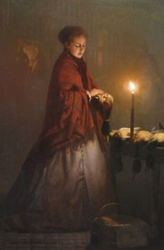 Petrus van Schendel (1806-1870) Buying game on the Groenmarkt in The Hague, by night, oil on panel. Collection Simonis & Buunk, The Netherlands