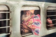 This Stunning Photoseries Captures The Many Emotions Seen On Indian Railway Stations