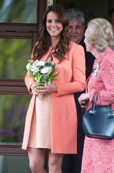 Kate's baby bump ....