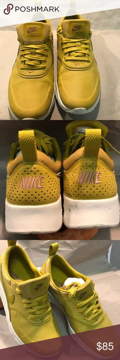 Air Max Thea Like New Air Max Thea Like New Worn Once Superficial flaws shown in pics. NO TRADES, POSHMARK ONLY  No box Nike Shoes Athletic Shoes