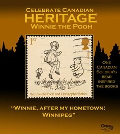 Winnie the Pooh is named after a soldier's bear and his home town - Winnipeg! Canadian People, Canadian Soldiers, Canadian History, History Projects, True North, Black Bear, Things To Know, Wwi, Quebec
