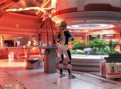 genesis by Darien Liddell | Sci-Fi | 3D | CGSociety Spaceship Interior, Futuristic Interior, Spaceship Art, Spaceship Design, Spaceship Concept, Futuristic Design, Futuristic Architecture, Sci Fi Environment, Cyberpunk Art