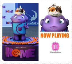 Dreamworks' Movie Home Comes To Life In This Super Realistic Cake