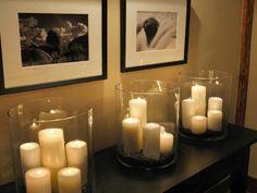 Chambre-à-coucher-romantique-déco-photo-noir-et-blanc-bougies-atmosphère