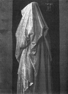 Albrecht Dürer - Study of Drapery