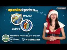 La Navidad llega al videoblog de ApuestasDeportivas y con ella el pronóstico para el Málaga vs. Getafe, ¡que lo disfrutéis! #apuestas #pronosticos #ligaBBVA