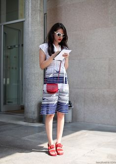 Streetstyle Milan #fashion